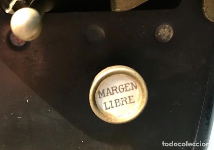 Antigüedades: Antigua máquina de escribir Royal, Trust mecanográfico de Madrid. 1923-24 aprox. - Foto 10 - 147318354