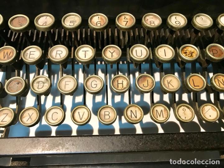 Antigüedades: Antigua máquina de escribir Royal, Trust mecanográfico de Madrid. 1923-24 aprox. - Foto 11 - 147318354