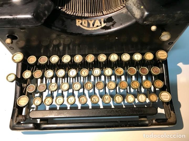 Antigüedades: Antigua máquina de escribir Royal, Trust mecanográfico de Madrid. 1923-24 aprox. - Foto 12 - 147318354