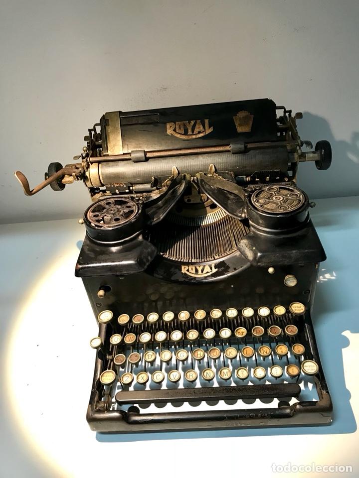Antigüedades: Antigua máquina de escribir Royal, Trust mecanográfico de Madrid. 1923-24 aprox. - Foto 13 - 147318354