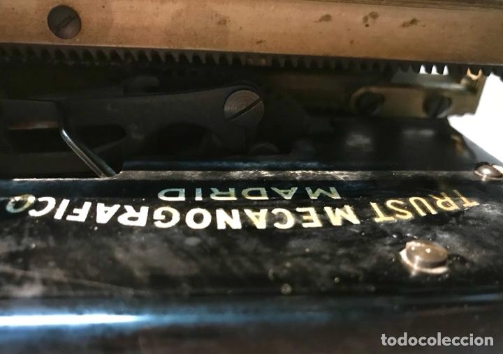 Antigüedades: Antigua máquina de escribir Royal, Trust mecanográfico de Madrid. 1923-24 aprox. - Foto 20 - 147318354