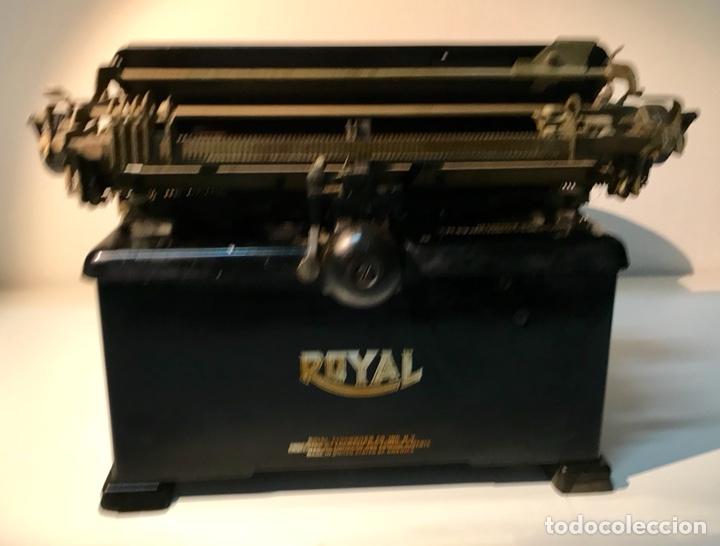 Antigüedades: Antigua máquina de escribir Royal, Trust mecanográfico de Madrid. 1923-24 aprox. - Foto 24 - 147318354
