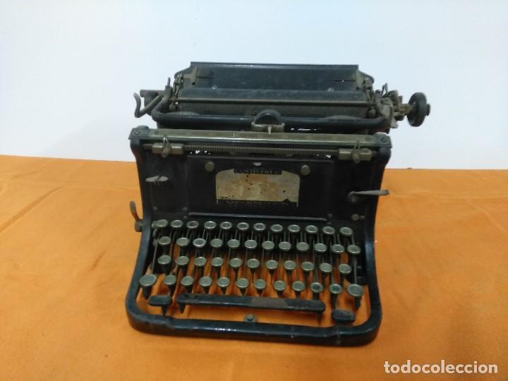 MAQUINA ANTIGUA DE ESCRIBIR CONTINENTAL (Antigüedades - Técnicas - Máquinas de Escribir Antiguas - Continental)