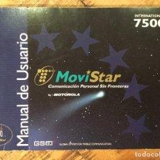 Teléfonos: MANUAL DE USUARIO MOTOROLA. Lote 147409646