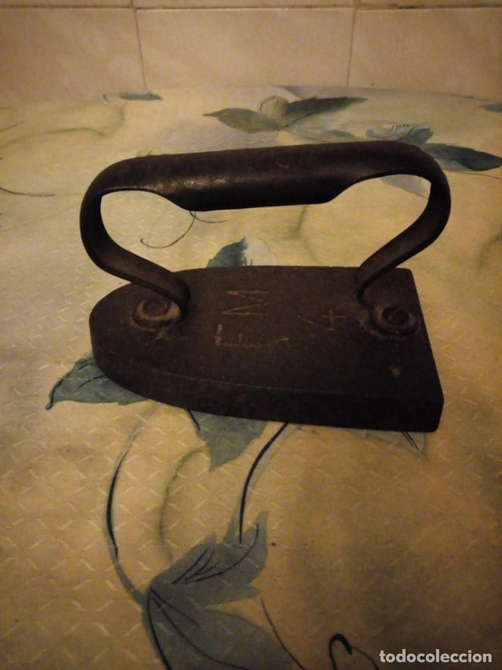 Antigüedades: Antigua plancha de hierro ,f m 4 - Foto 4 - 147456626