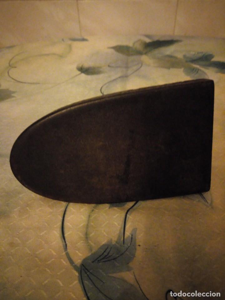Antigüedades: Antigua plancha de hierro ,f m 4 - Foto 5 - 147456626