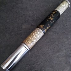 Antigüedades: ANTIGUA CALCULADORA DE BOLSILLO OTIS KING TELESCOPICA INGLATERRA AÑOS 30/40 MODELO K SCALA 414 Y 423. Lote 147480462