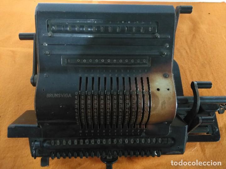 ANTIGUA MÁQUINA DE CALCULAR BRUNSUIGA (Antigüedades - Técnicas - Aparatos de Cálculo - Calculadoras Antiguas)