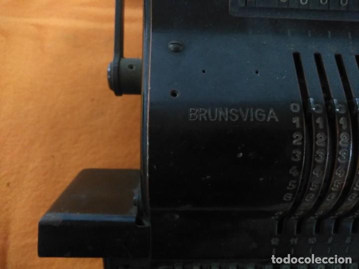 Antigüedades: ANTIGUA MÁQUINA DE CALCULAR BRUNSUIGA - Foto 2 - 147498442