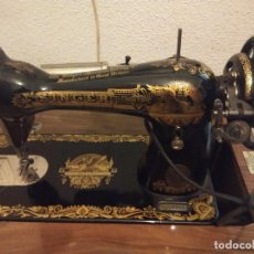 Antigüedades: MAQUINA DE COSER SINGER ESFINGE. Lote 147514778