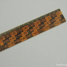 Antigüedades: REGLA TRES DIMENSIONES. TRIDIMENSIONAL. HOLOGRAFICA. . Lote 147580050
