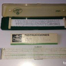 Antigüedades: ANTIGUA REGLA DE CALCULO. Lote 147592990