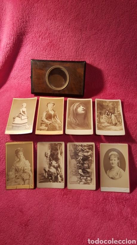 Antigüedades: ANTIGUO VISOR DE VISTAS PORTÁTIL - Foto 8 - 147626222