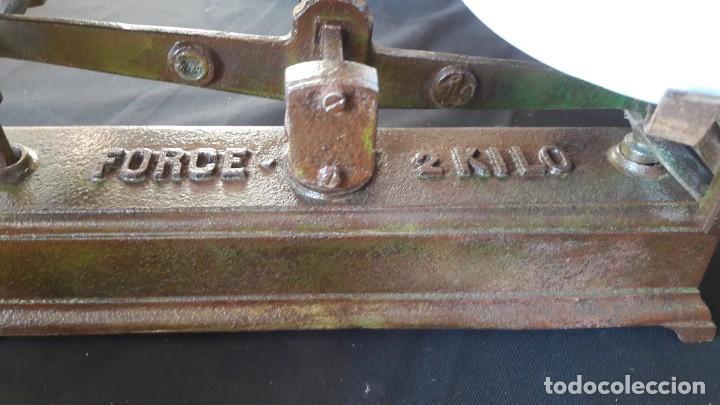 Antigüedades: peso,s , balanza,s , de platos , platillos - Foto 3 - 147661030