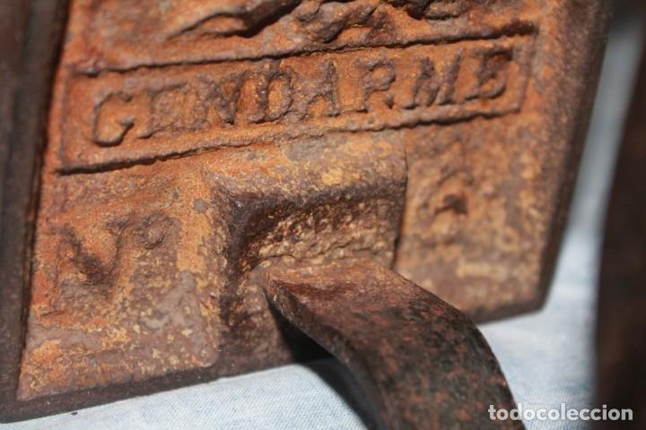 Antiquitäten: plancha antigua numero 6 - Foto 3 - 147663170