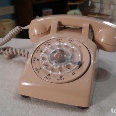 Teléfonos: TELEFONO DE DISCO NT COLOR BEIG. Lote 147695146