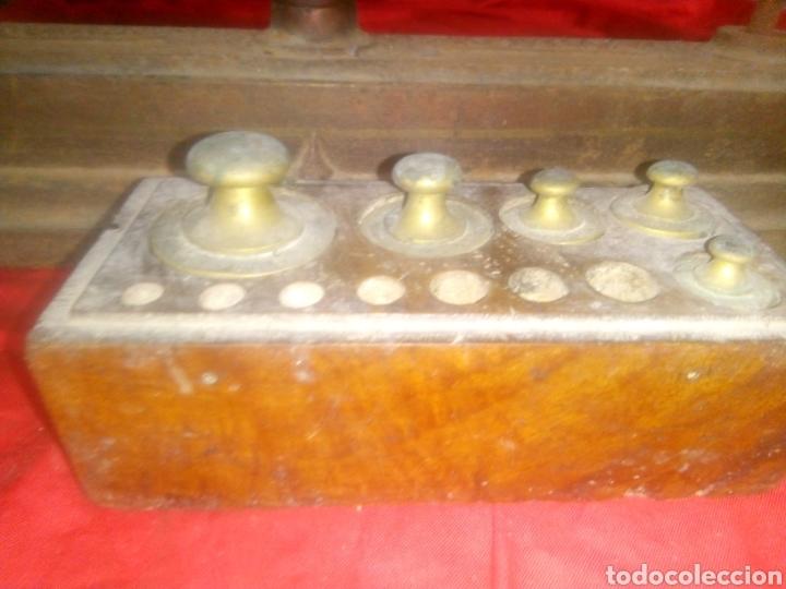 Antiquitäten: Balanza con pesas - Foto 5 - 147717410