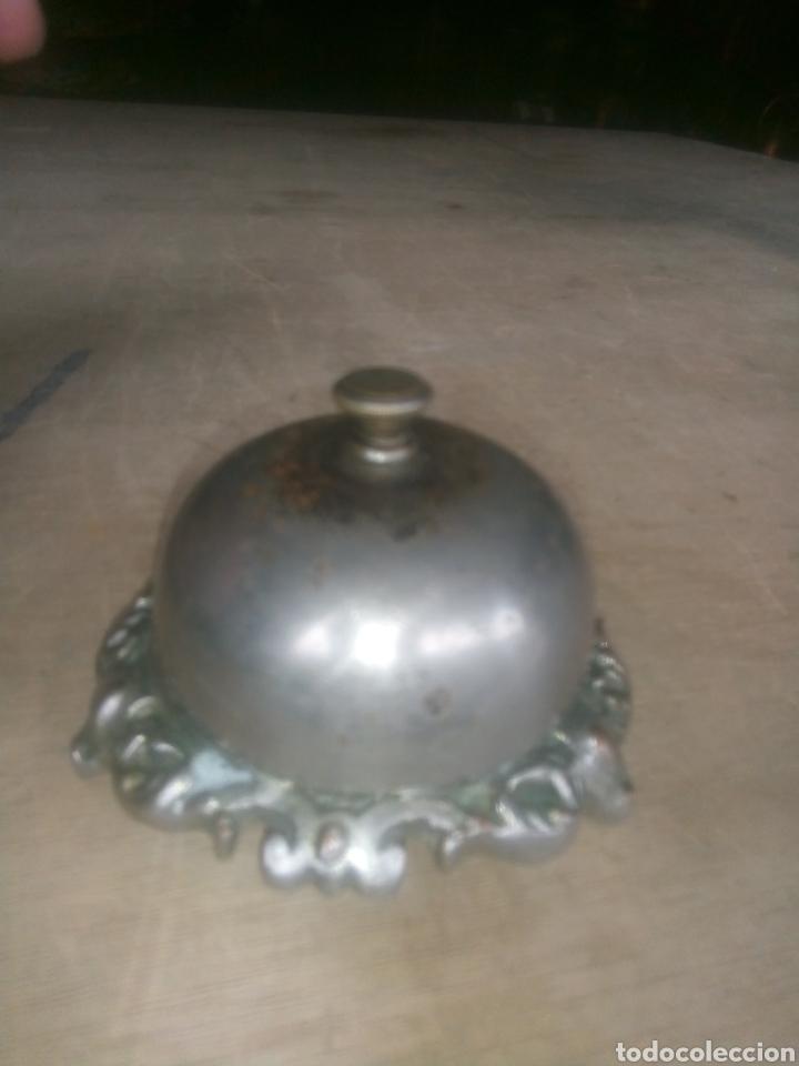 FABULOSO TIMBRE DE RECEPCIÓN (Antiquitäten - Technische - Schlosserei und Schmiede - Antike Türklopfer)