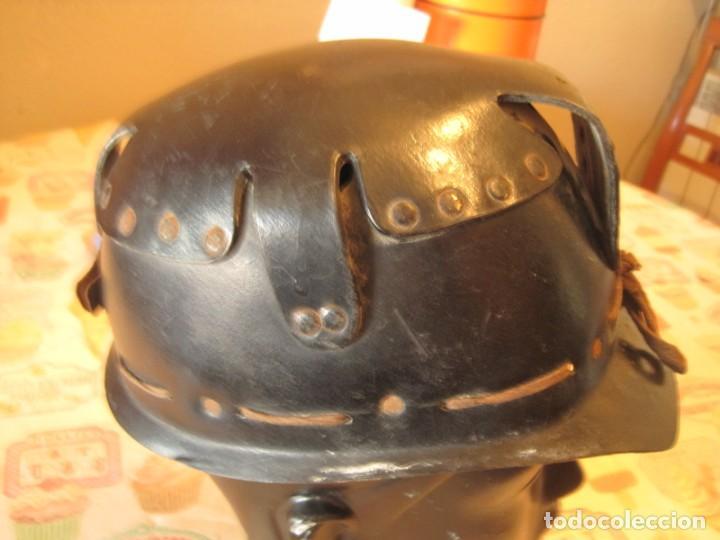 Antigüedades: ANTIGUO-CASCO-MINERO-FINALES-DEL-SIGLO-XIX - Foto 2 - 147735442
