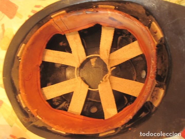 Antigüedades: ANTIGUO-CASCO-MINERO-FINALES-DEL-SIGLO-XIX - Foto 5 - 147735442