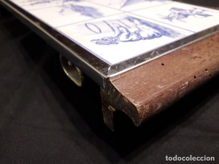 Antigüedades: Plancha eléctrica para cocinar con preciosa decoracion - Foto 5 - 147738834
