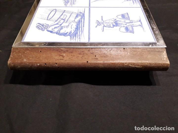 Antigüedades: Plancha eléctrica para cocinar con preciosa decoracion - Foto 6 - 147738834