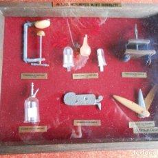 Antigüedades: MINIATURAS MEDICINA ANTIGÚA. Lote 147756482