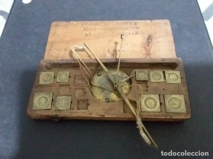 BALANZA QUILATERA PARA ORO SIGLO XVII-XVIII (Antigüedades - Técnicas - Medidas de Peso - Balanzas Antiguas)