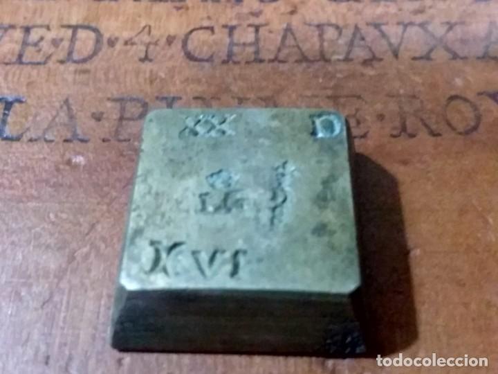 Antigüedades: Balanza quilatera para oro siglo XVII-XVIII - Foto 23 - 147758790