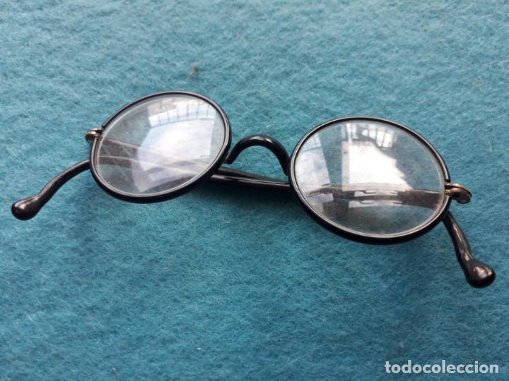 Antigüedades: Antiguas Gafas con Funda de Piel. - Foto 2 - 147888082