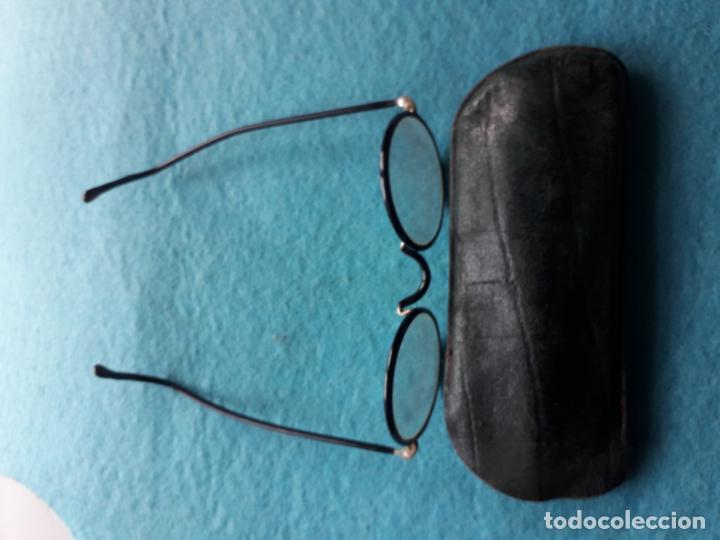 Antigüedades: Antiguas Gafas con Funda de Piel. - Foto 5 - 147888082