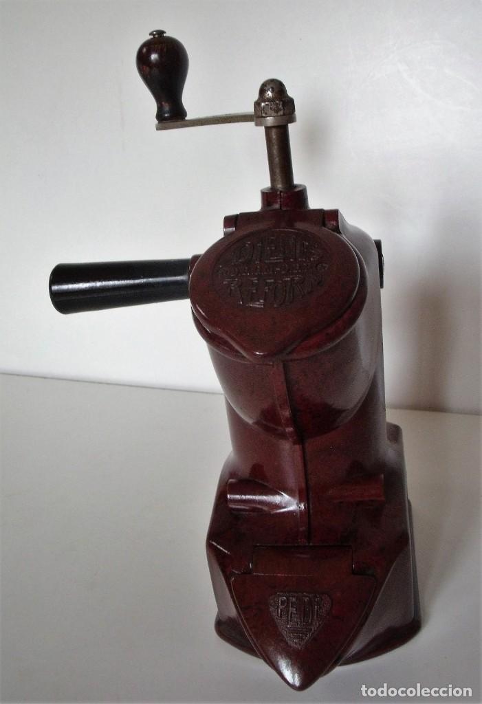Antigüedades: EXCEPCIONAL MOLINILLO DE CAFÉ MARCA DIENES. MODELO 411. ALEMANIA 1931/1937 - Foto 5 - 147909954