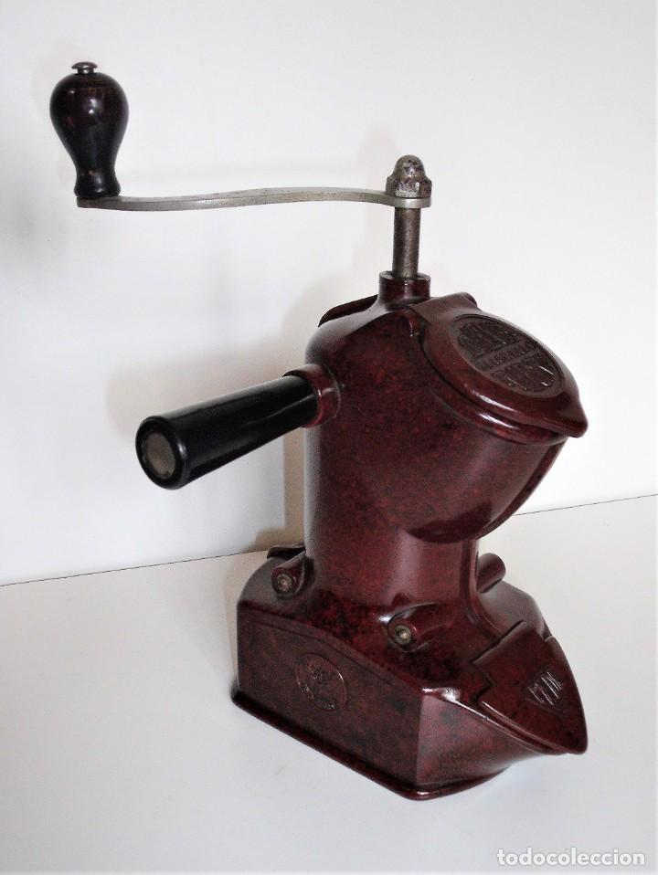 Antigüedades: EXCEPCIONAL MOLINILLO DE CAFÉ MARCA DIENES. MODELO 411. ALEMANIA 1931/1937 - Foto 8 - 147909954