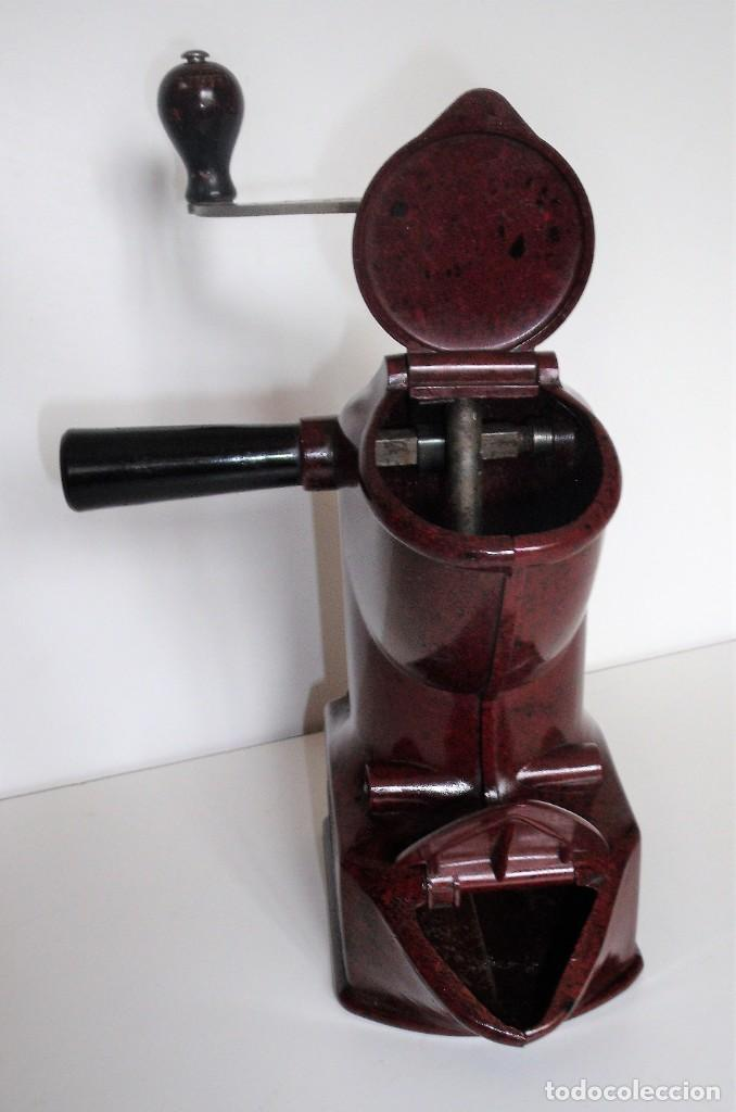 Antigüedades: EXCEPCIONAL MOLINILLO DE CAFÉ MARCA DIENES. MODELO 411. ALEMANIA 1931/1937 - Foto 11 - 147909954