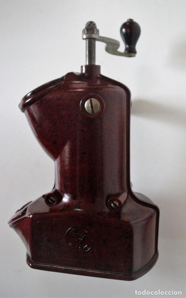 Antigüedades: EXCEPCIONAL MOLINILLO DE CAFÉ MARCA DIENES. MODELO 411. ALEMANIA 1931/1937 - Foto 13 - 147909954