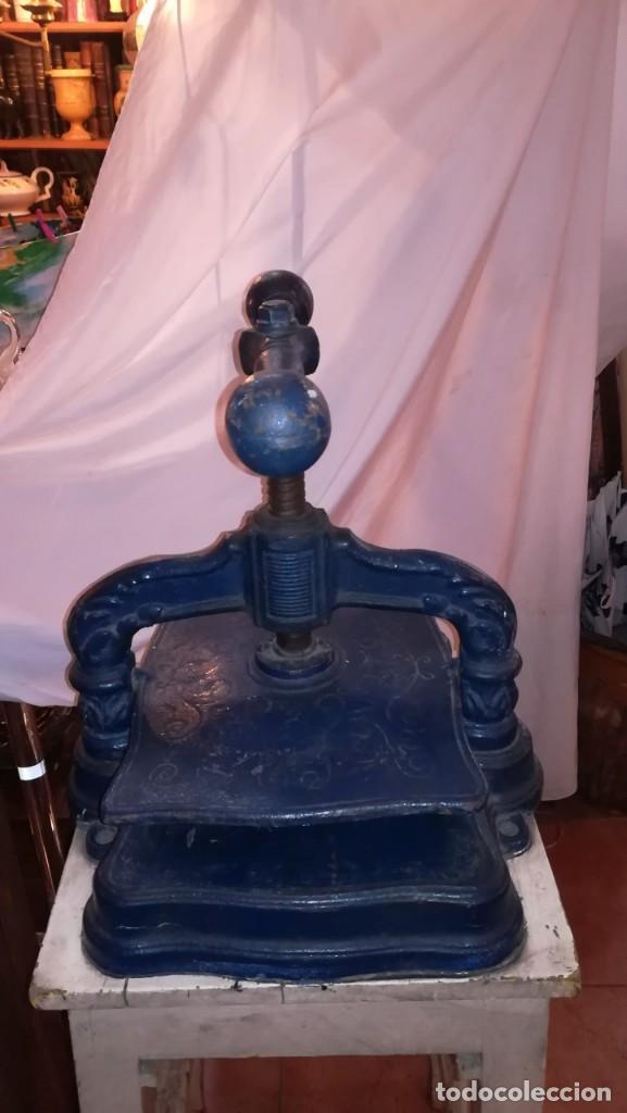 Antigüedades: PRENSA DE ENCUADERNACIÓN - Foto 2 - 147914926