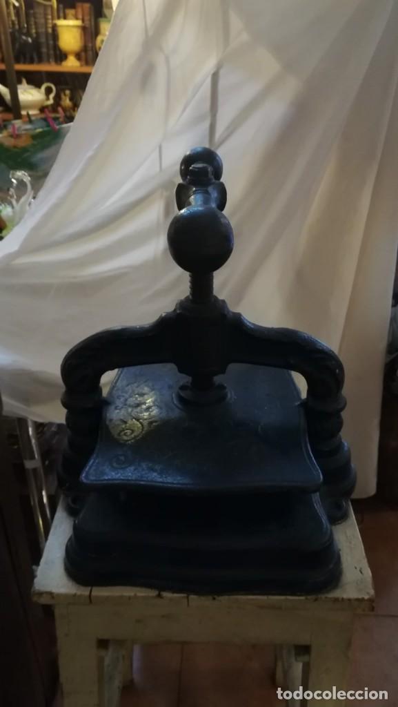 Antigüedades: PRENSA DE ENCUADERNACIÓN - Foto 4 - 147914926