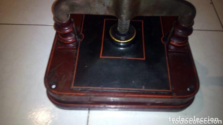 Antigüedades: Antigua prensa de Libros,Imprenta, (Muy Buen Estado) - Foto 4 - 148012994