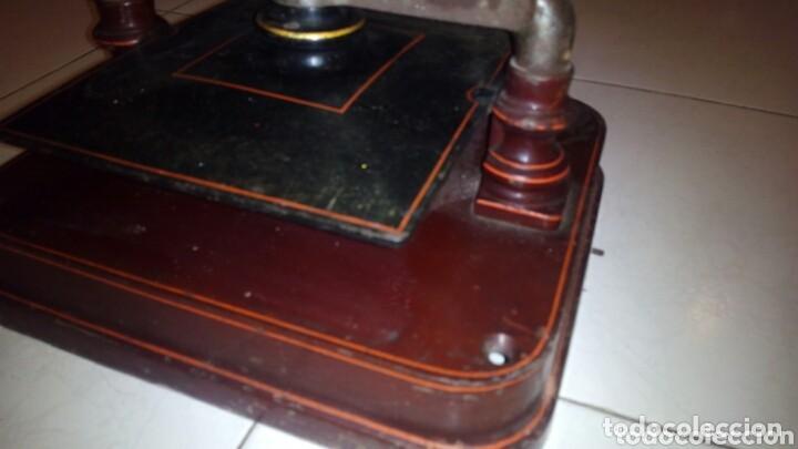 Antigüedades: Antigua prensa de Libros,Imprenta, (Muy Buen Estado) - Foto 11 - 148012994