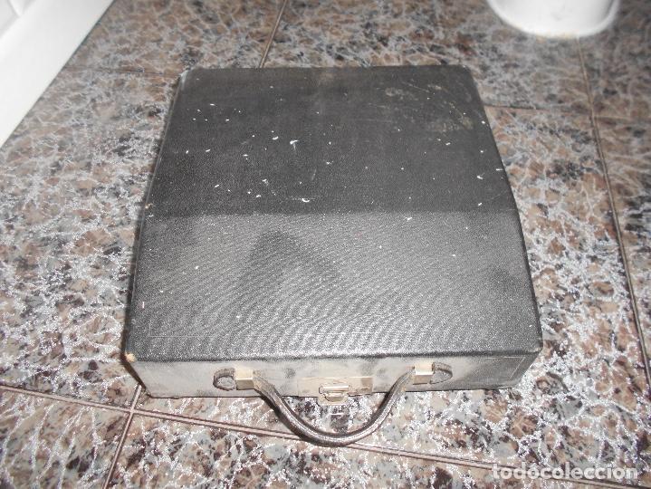 Antigüedades: Antigua maquina de escribir portatil Remington Portable CREO MODELO 5 FUNCIONANDO - Foto 4 - 148023942