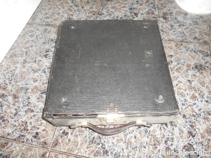 Antigüedades: Antigua maquina de escribir portatil Remington Portable CREO MODELO 5 FUNCIONANDO - Foto 5 - 148023942