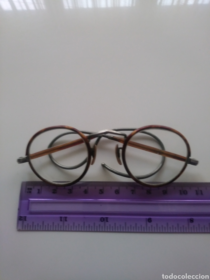 Antigüedades: Gafas redondas / Siglo20. - Foto 3 - 147858618