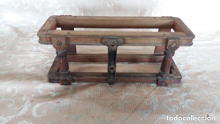 Antiquitäten: Pareja de habitáculos para cajones de mesa de máquina de coser y un cajón, ppios XX - Foto 5 - 148037562