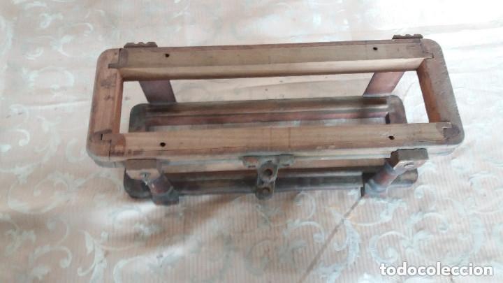 Antiquitäten: Pareja de habitáculos para cajones de mesa de máquina de coser y un cajón, ppios XX - Foto 6 - 148037562