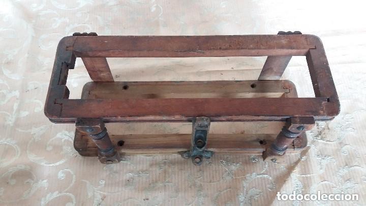Antiquitäten: Pareja de habitáculos para cajones de mesa de máquina de coser y un cajón, ppios XX - Foto 7 - 148037562