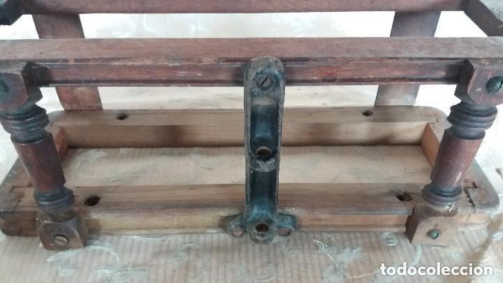 Antiquitäten: Pareja de habitáculos para cajones de mesa de máquina de coser y un cajón, ppios XX - Foto 8 - 148037562