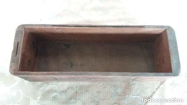 Antiquitäten: Pareja de habitáculos para cajones de mesa de máquina de coser y un cajón, ppios XX - Foto 9 - 148037562