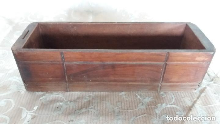 Antiquitäten: Pareja de habitáculos para cajones de mesa de máquina de coser y un cajón, ppios XX - Foto 10 - 148037562