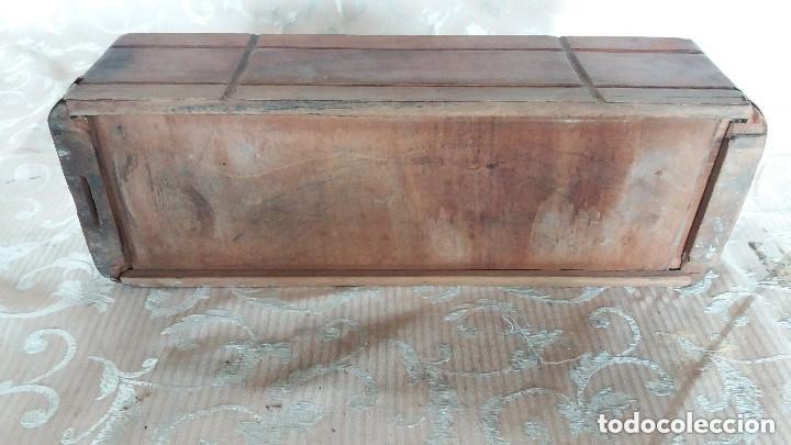 Antiquitäten: Pareja de habitáculos para cajones de mesa de máquina de coser y un cajón, ppios XX - Foto 11 - 148037562