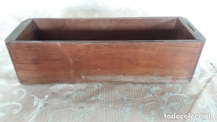 Antiquitäten: Pareja de habitáculos para cajones de mesa de máquina de coser y un cajón, ppios XX - Foto 12 - 148037562